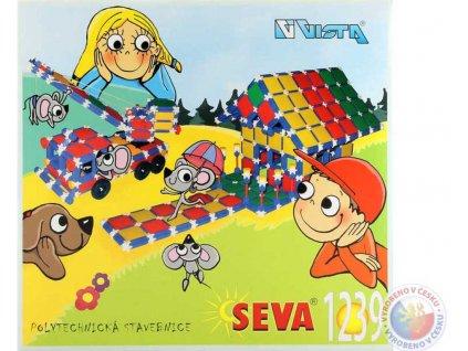 VISTA SEVA Domeček Jeřáb polytechnická STAVEBNICE 1239 dílků