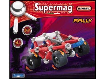 SUPERMAG RALLY 69 dílků * MAGNETICKÁ STAVEBNICE *