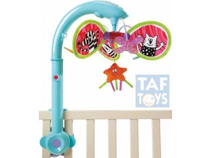 TAF TOYS Baby hudební kolotoč hvězdička klasické melodie Světlo Zvuk