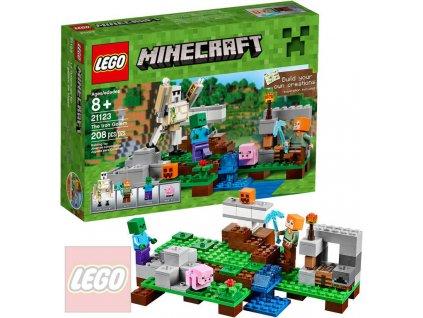 LEGO MINECRAFT Železný Golem 21123 STAVEBNICE