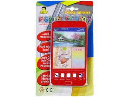 Mobil s 3D obrázky dotykový ČESKY MLUVÍCÍ telefon