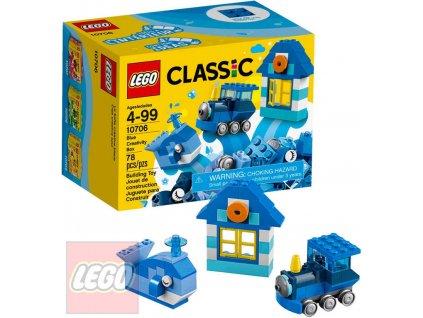 LEGO CLASSIC Modrý kreativní box 10706 STAVEBNICE