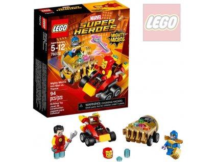 LEGO SUPER HEROES Mighty Micros: Iron Man vs. Thanos 76072 STAVEBNICE