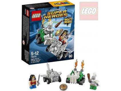 LEGO SUPER HEROES Mighty Micros: Wonder Woman vs. Doomsday STAVEBNICE
