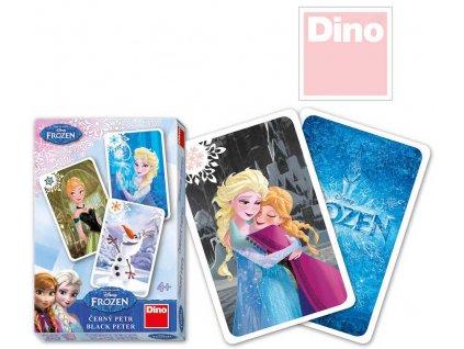 DINO Hra karetní Černý Petr Frozen (Ledové Království)
