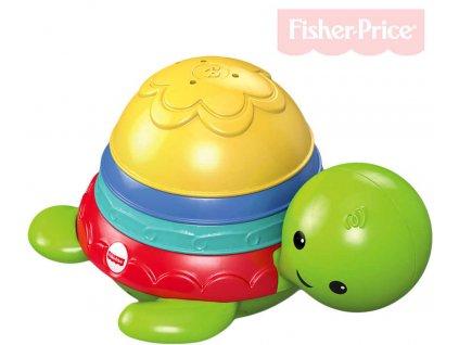 FISHER PRICE Baby želvička skládačka do vany pro miminko do vody plast
