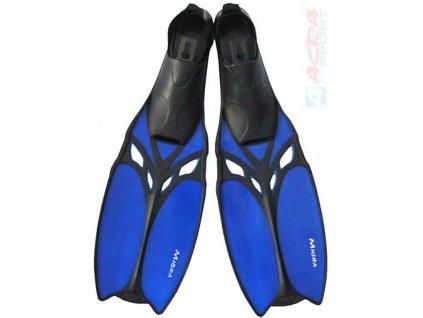 ACRA Ploutve potápěčské do vody Migra vel. EU 39-40 gumová botička 2 barvy plast