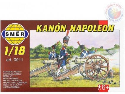 SMĚR Model Kanón NAPOLEON 1:18 (stavebnice děla)