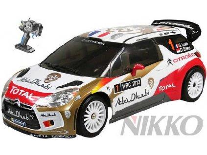 NIKKO RC Auto Citroen DS3 WRC na dálkové ovládání 27MHz (vysílačku)