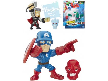HASBRO AVENGERS Micro Super Hero Mashers set figurka + doplněk 6 druhů