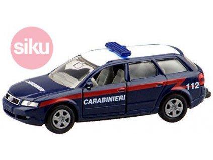 SIKU Auto Policie Audi A4 Itálie