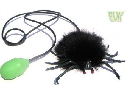 EVK Zvířátko skákací Pavouk / Žába 2 druhy různé barvy plast
