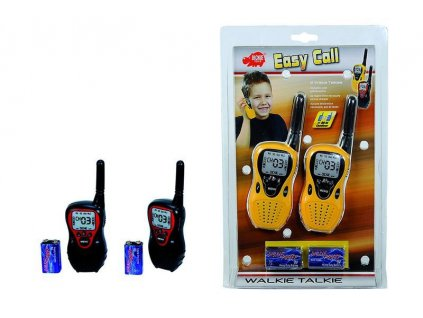 DICKIE Vysílačky Walkie Talkie Easy Call 2 druhy