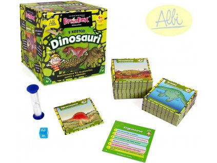 ALBI HRA V Kostce! Dinosauři *SPOLEČENSKÉ HRY*