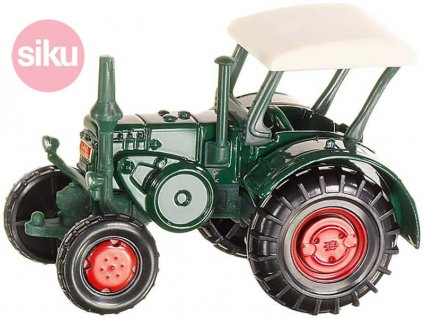 SIKU Traktor historický Lanz Bulldog KOV