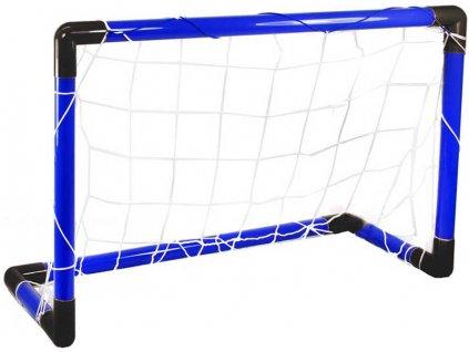 Branka pro děti na fotbal plastová modrá 80cm
