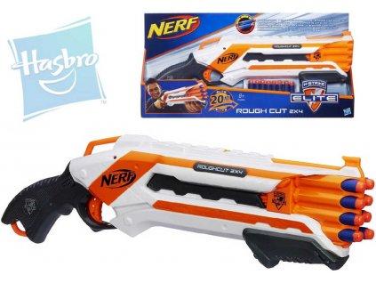 HASBRO NERF ELITE Rough Cut N-Strike Střílí 2 šipky najednou Set s náboji