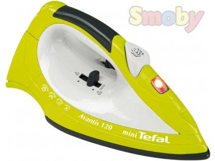 SMOBY Žehlička dětská napařovací mini Tefal Avantis 120 Zvuk plastová