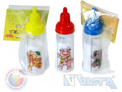 VISTA Kojenecká Lahvička s mlékem pro panenky