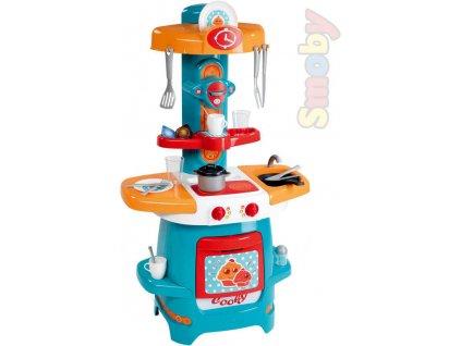 SMOBY Kuchyňka dětská Cooky 65x80x30cm set s doplňky 18ks plast