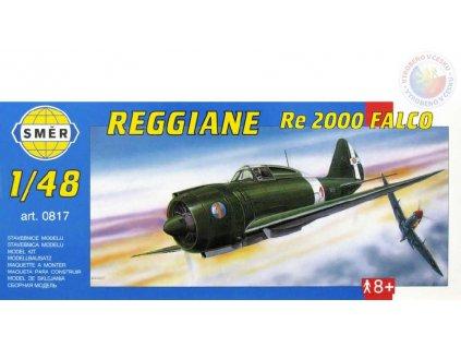 SMĚR Model letadlo Reggiane RE2000 Falco 1:48 (stavebnice letadla)
