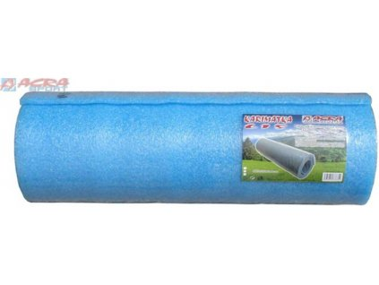 ACRA Karimatka pěnová jednovrstvá soft modrá 180 x 50 x 1 cm
