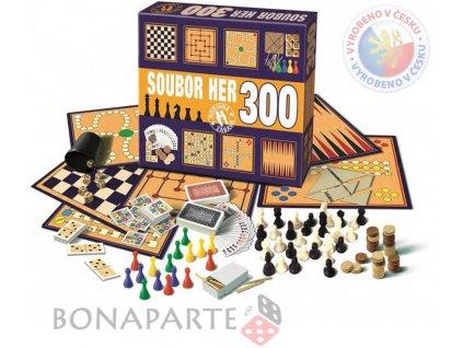 BONAPARTE Soubor her 300 herních variant