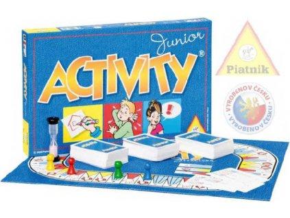 PIATNIK Hra ACTIVITY Junior *SPOLEČENSKÉ HRY*