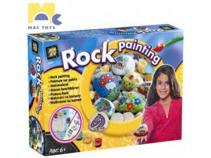 MAC TOYS Malování na kameny Kreativní sada Zdobení kamenů