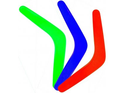 Bumerang dětský plastový 4 barvy