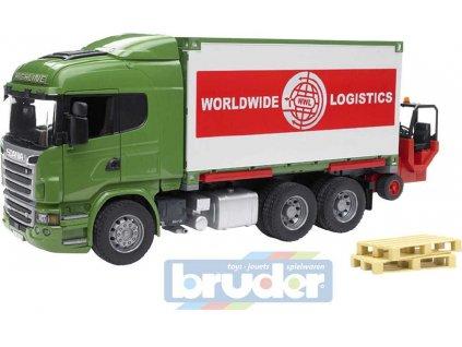 BRUDER 03580 (3580) Auto nákladní s kontejnerem