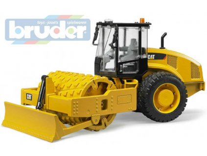 BRUDER 02450 (2450) Válec vibrační Caterpillar funkční model 1:16 plast