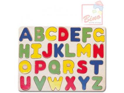BINO DŘEVO Puzzle Abeceda 88045 * DŘEVĚNÉ HRAČKY *