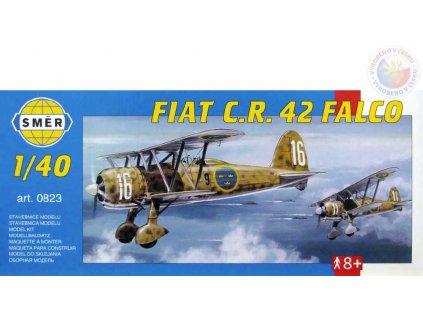 SMĚR Model letadlo Fiat CR 42 1:40 (stavebnice letadla)