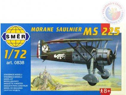 SMĚR Model letadlo Morane Saulnier MS 225 1:72 (stavebnice letadla)