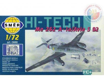 SMĚR Model letadlo Messerschmitt Me 262 A (stavebnice letadla)