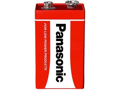 Baterie 9 V obyčejná 6F22R Pananasonic