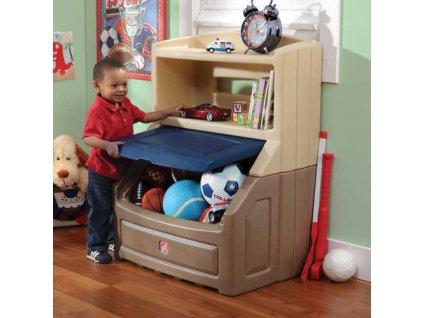 skrinka na hracky modra 838600