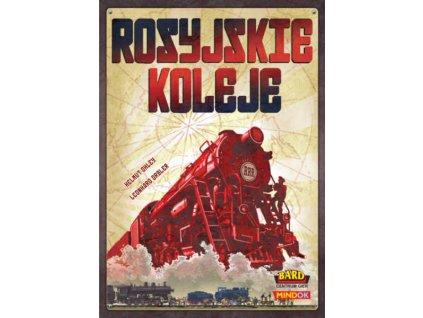 MINDOK HRA Ruské železnice *SPOLEČENSKÉ HRY*