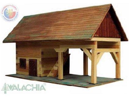 WALACHIA Kolna 33W17 dřevěná stavebnice