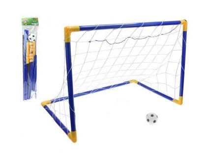 Branka fotbalová v sáčku 80 x 50 x 63 cm s míčem