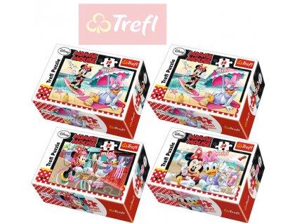 TREFL PUZZLE MINNIE a DAISY Disney 54 dílků 154130