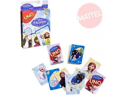 MATTEL HRA Uno karty Frozen (Ledové Království)