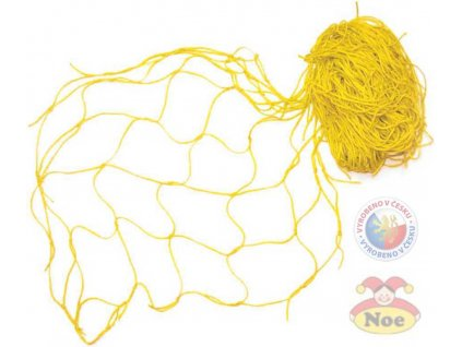 NOE Síť dekorační žlutá na aranžování - zavěšování hraček