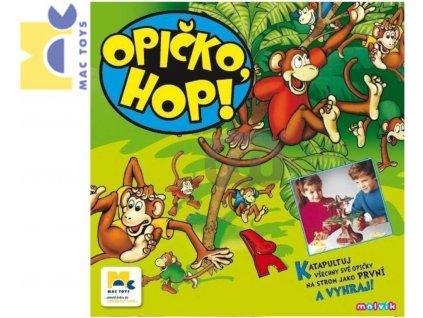 MAC TOYS Hra Opičko HOP *SPOLEČENSKÉ HRY*