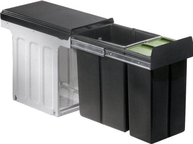Wesco odpadkový koš Profiline-Bio-Double 30DT 30 litrů