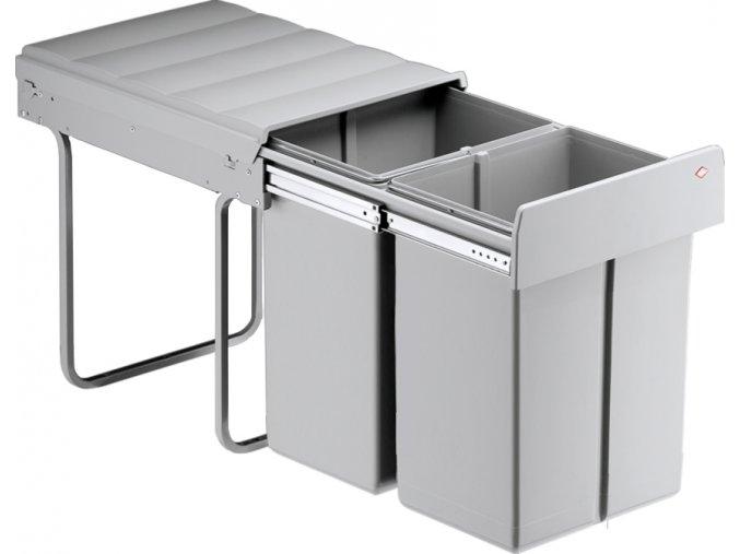 WESCO koš na odpadky Double Master Maxi 40 L