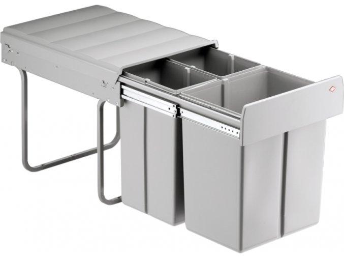WESCO odpadkový koš na tříděný odpad Bio Trio Maxi 40 L