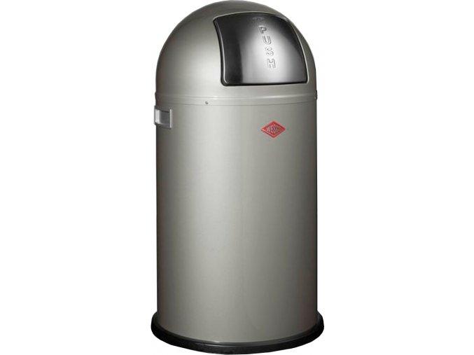 WESCO odpadkový koš Push-boy 50 - nově stříbrna