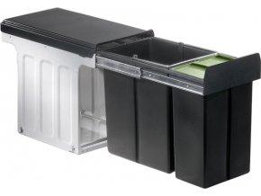 WESCO koš na tříděný odpad Profiline Bio-Double 30 DT